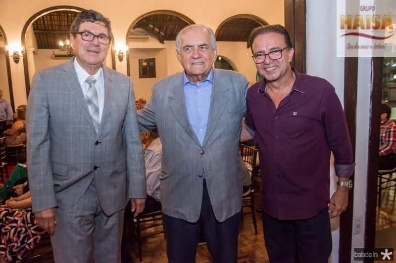 Raimundo Fernandes, Fernando Pontes e Wener Rolim