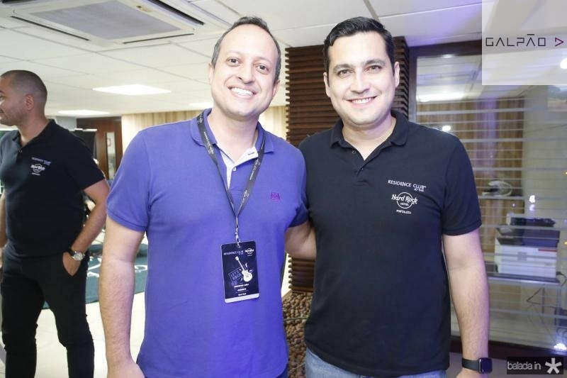 Rodrigo Coli e Luiz Sobreira