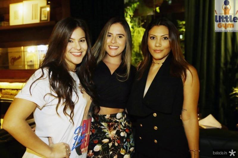 Gabriela Tavares, Amanda Dantas e Patricia Mirza