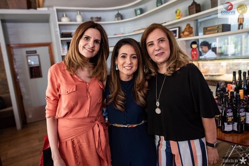 Vivian Bayman, Claudiana Loureiro e Joria Araripe