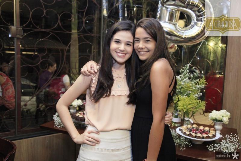 Beatrice Vasconcelos e Luana Camille