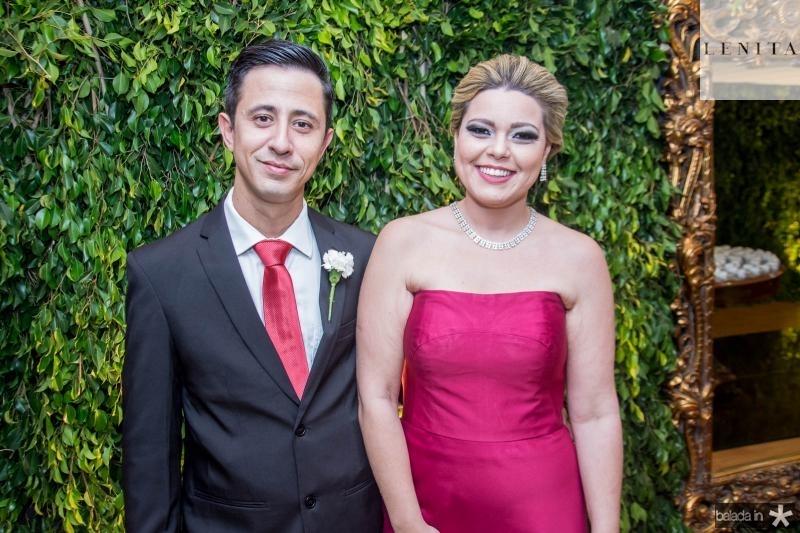 Rafael Valente e Talita Oliveira