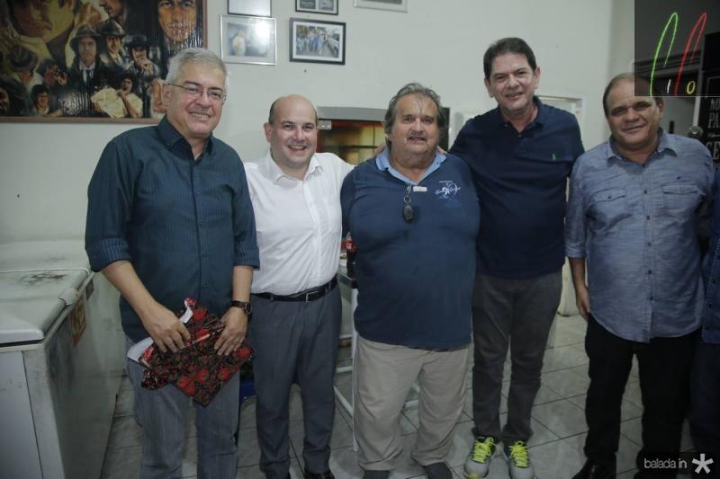 PC Noroes, Roberto Claudio, Vaval, Cid Gomes e Roberto Moreira