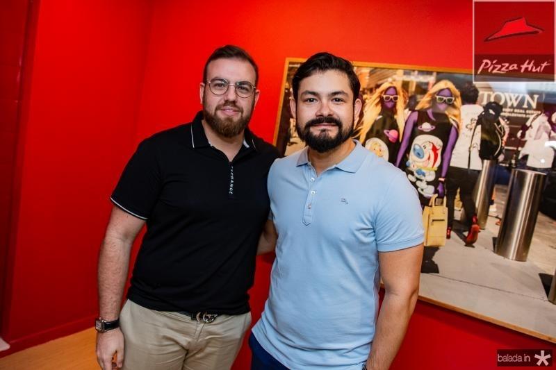 Nicola Martins e Diego Costa