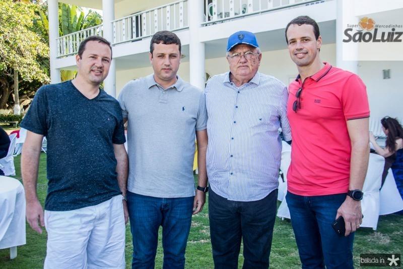 Fabio Pessoa, Andre Aguiar, Dilson Pessoa e Dilson Pessoa Filho