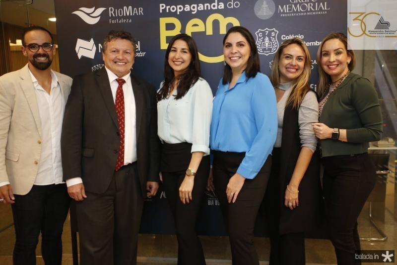 Tavinho Brigido, Luiz Meireles, Elaine Ditomy, Patricia Paiva, Monika Vieira e Ana Cristina Lima