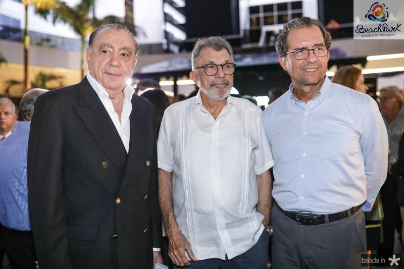 Valder Ary, Eudoro Santana e Aristarco Sobreira