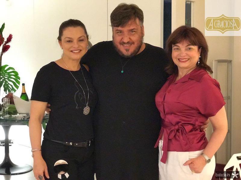 Lucia Praciano, Leonan e Cristiane Chaves