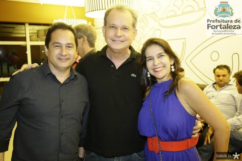 Sergio Coelho, Roberto e Vanessa Rodrigues