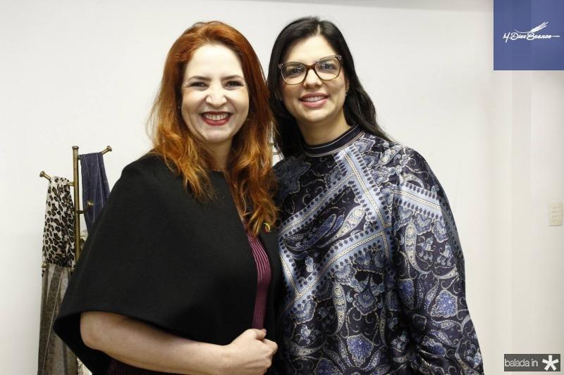 Enid Camara e Karina Frota