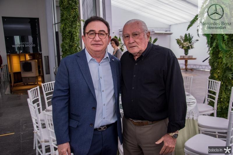 Manuel Linhares e Chico Barreto