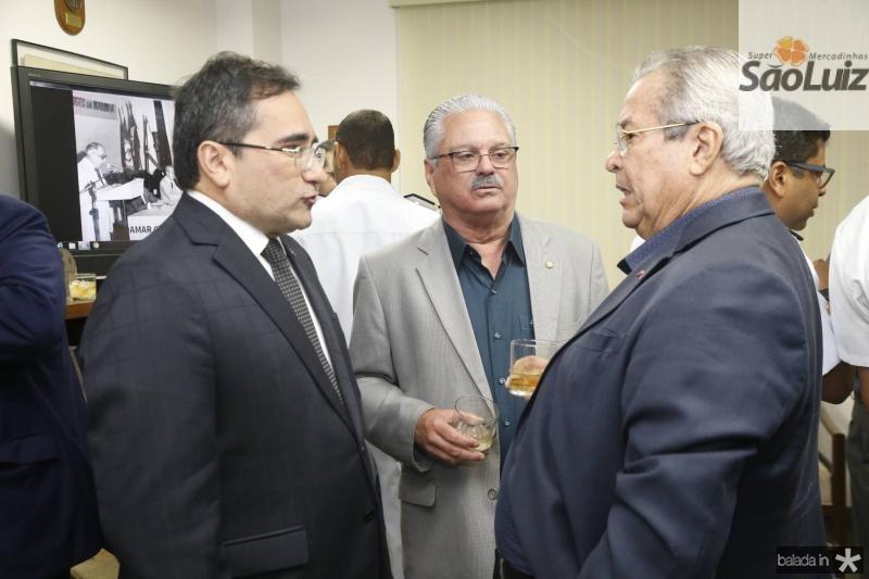 Jardson Cruz, Victor Frota e Meton Vasconcelos
