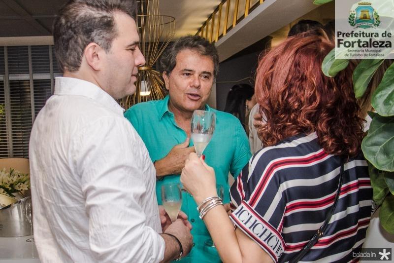 Danilo Dias, Ivan Bezerra e Gladys Esmeraldo