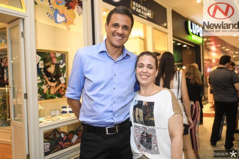Welingtom Oliveira e Raquel Mendonça