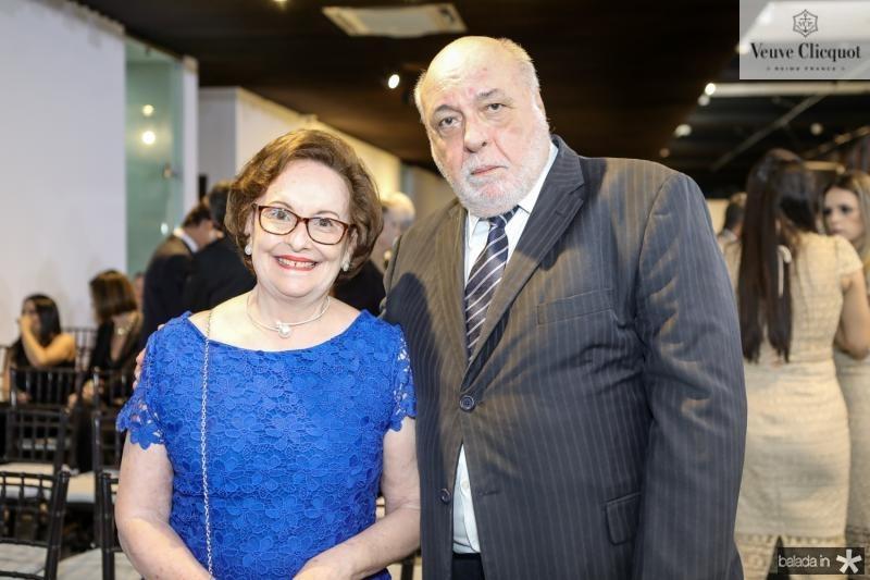 Regina e Eduardo Fiuza