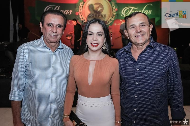 Gaudencio Lucena, Roberta Fontelles e Raimundo Philomeno