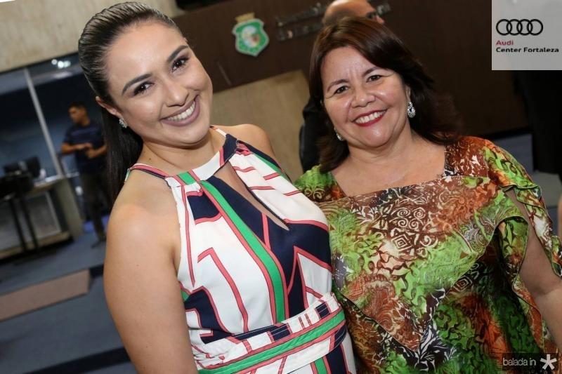 Adriana Abreu e Ivana Castro