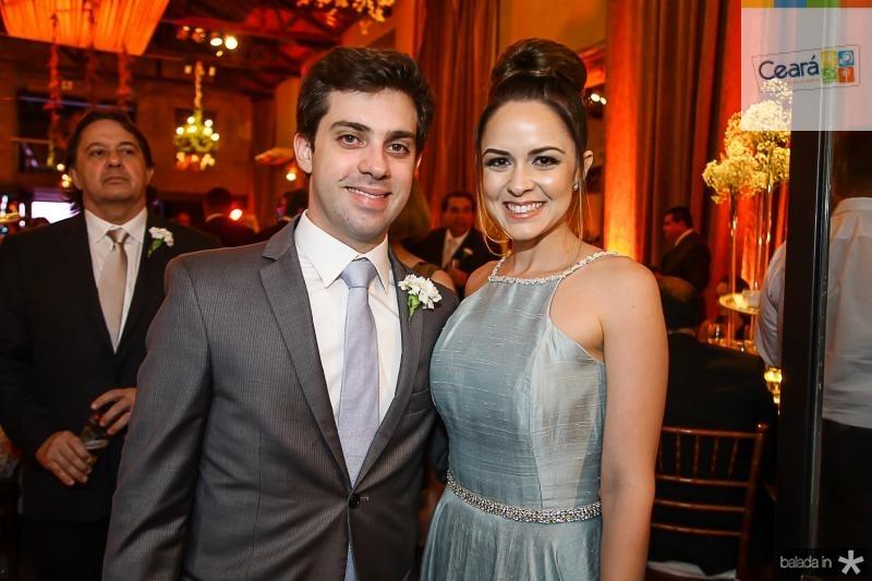 Guilherme e Lorena Macedo