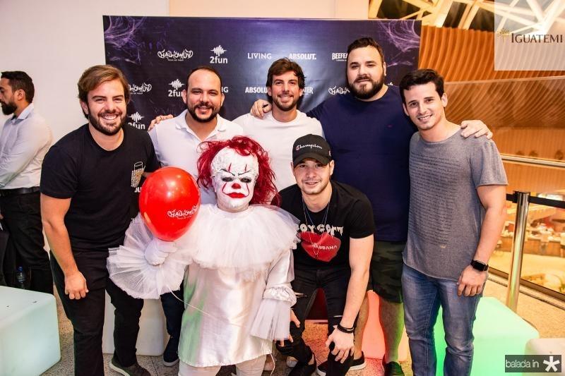Claudio Nelson, Daniel Meireles, Pedro Campos, Lucas Coelho e Kleiton Holanda