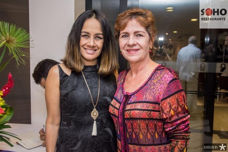 Solange Gomes e Lilia Quindere