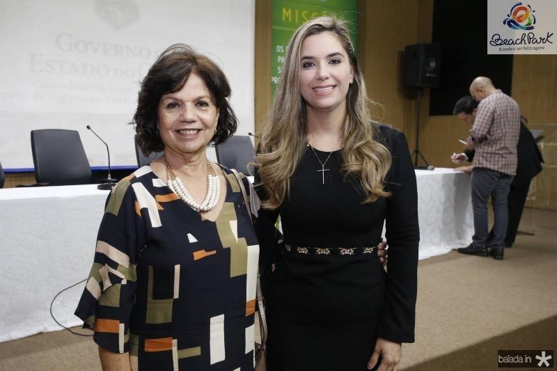 Candida Torres de Melo e Juliana Albuquerque