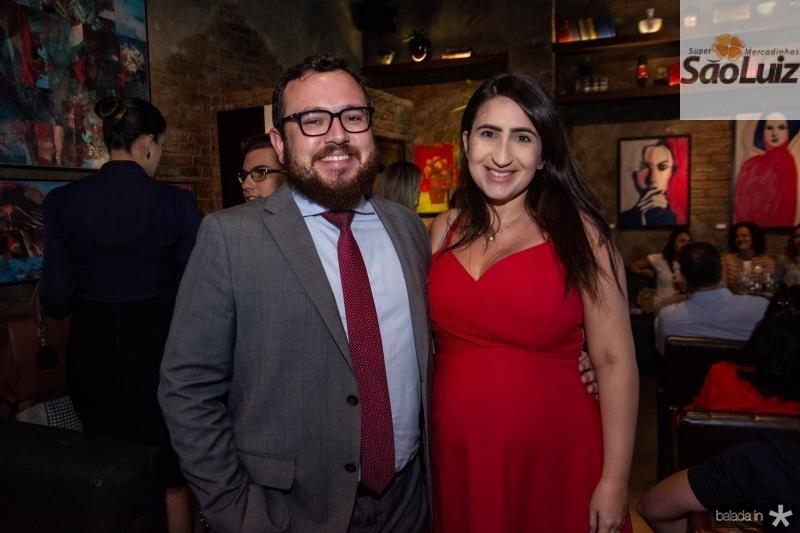 Marcus Sousa e Larissa Freitas