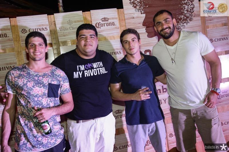 Marcelo Ceara, Anderson Queiroz, Vitor Veras e Bruno Recife