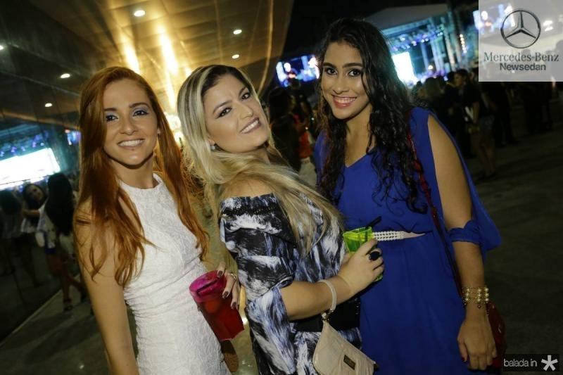 Amanda Freitas, Andreza Mesquita e Amanda Tavares