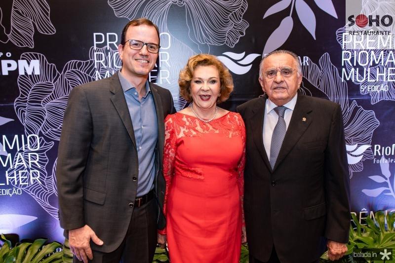 Gian Franco, Auxiliadora e Joao Carlos Paes Mendonca