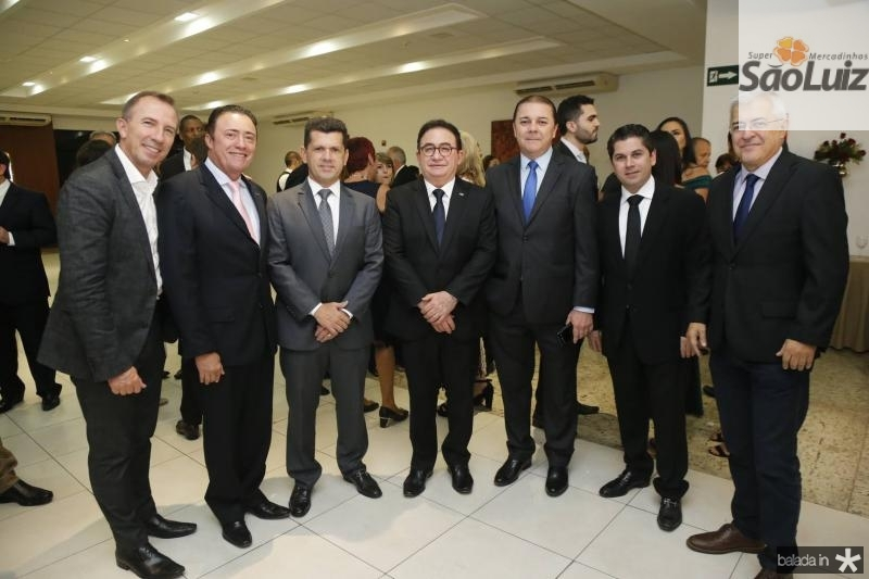 Philip Godofruan, Darlan Leite, Erick Vasconcelos, Manoel Linhares, Eliseu Barros, Pompeu Vasconcelos e PC Noroes