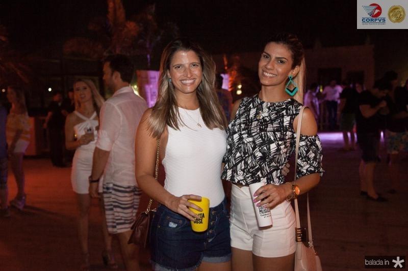 Rosseline Santa Rosa e Mariane Zucato