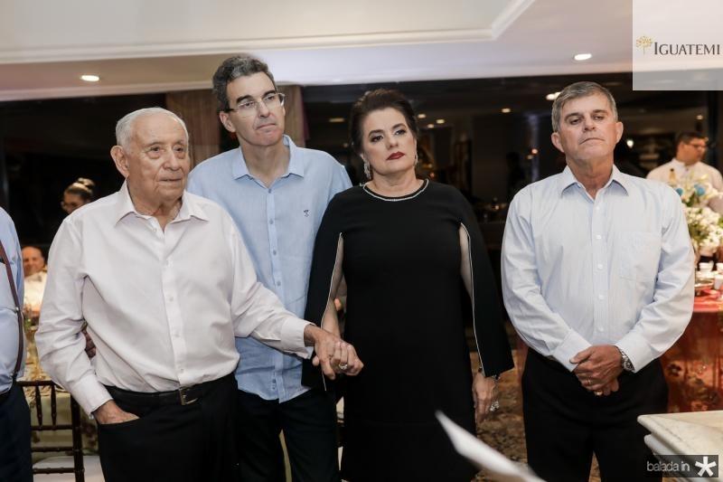 Adauto Bezerra, Geraldo Luciano, Silvana Bezerra e Guilherme Teofilo