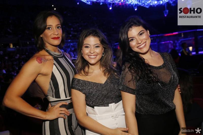 Andressa, Yascara e Rayssa Franca