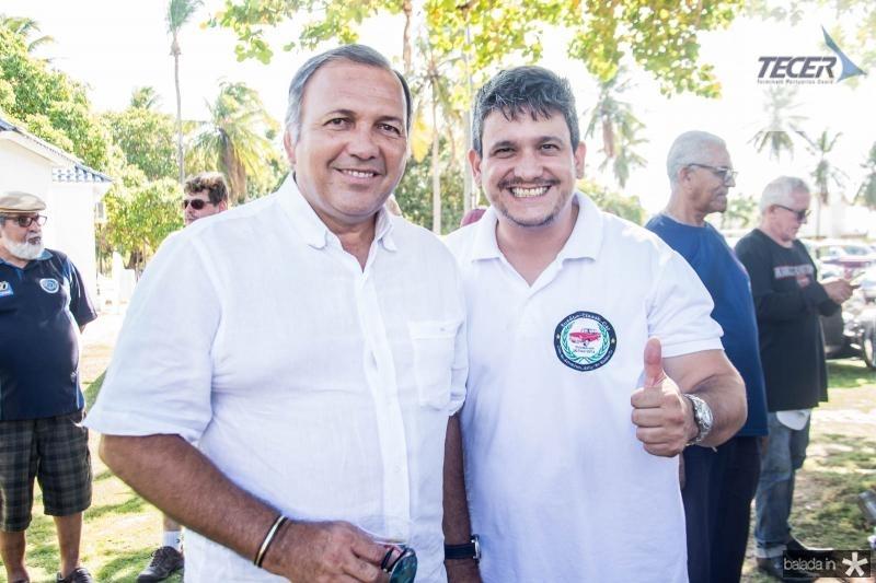 Hildo Leitao e Arnobio Filho