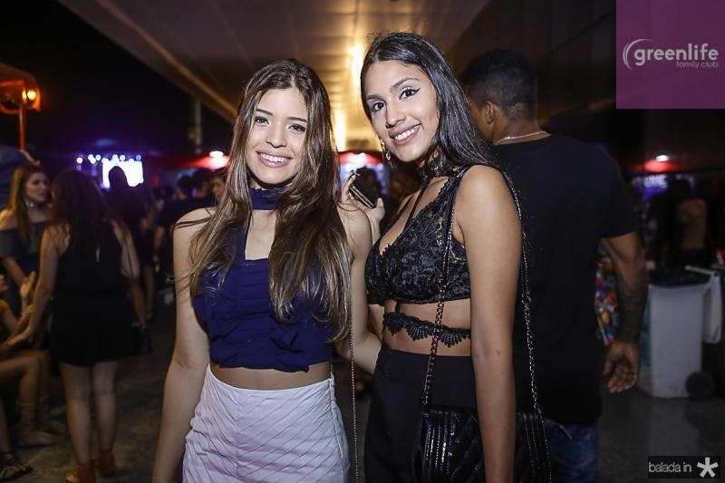 Glenda Rodrigues e Luana Carvalho