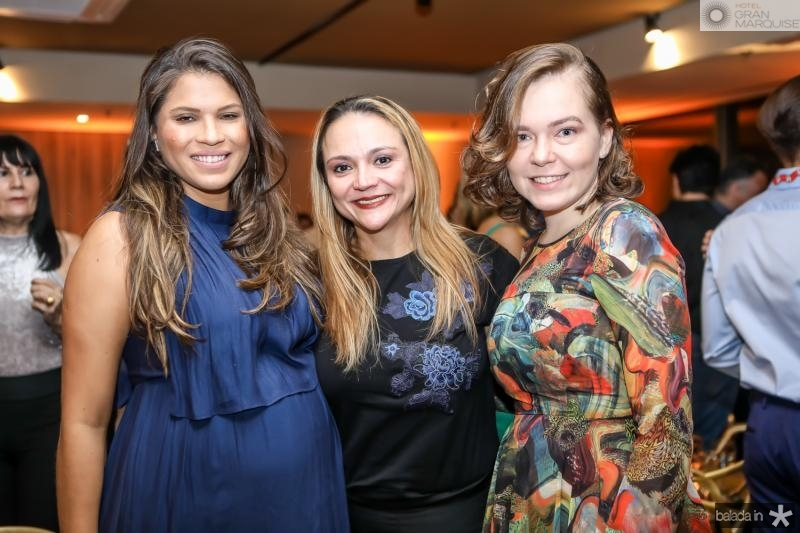 Anelise Blum, Olga Costa e Carol Timbo