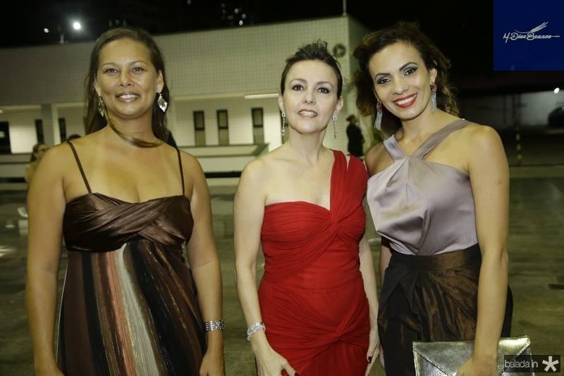 Luzimare Alves, Circe Jane e Erika Cabral
