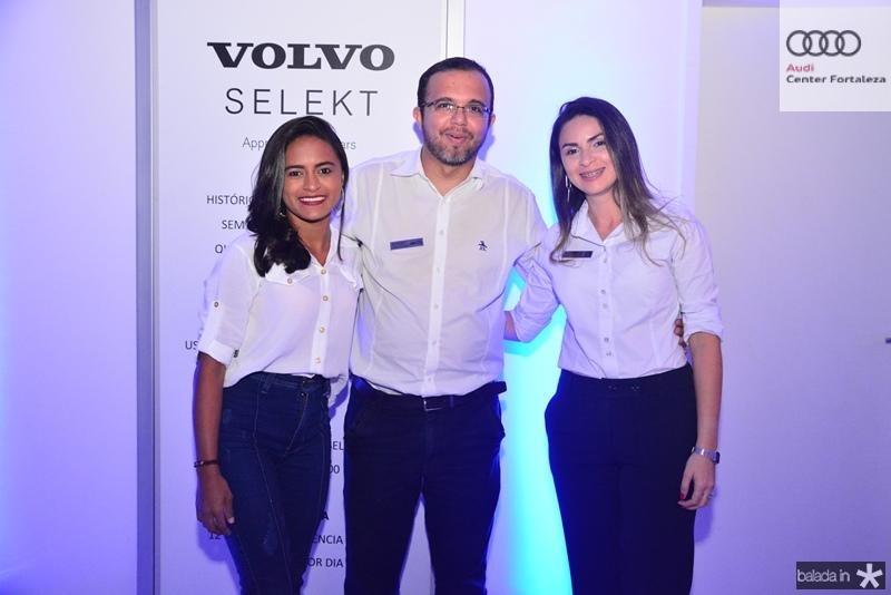 Rita de Cassia, Berg Santos e Caroline Holanda