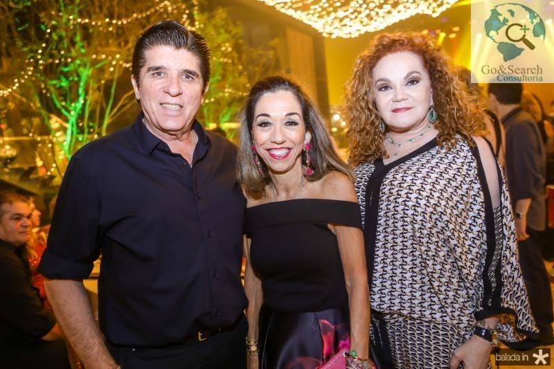 Dito Machado, Marcia Tavora e Lisieux Brasileiro