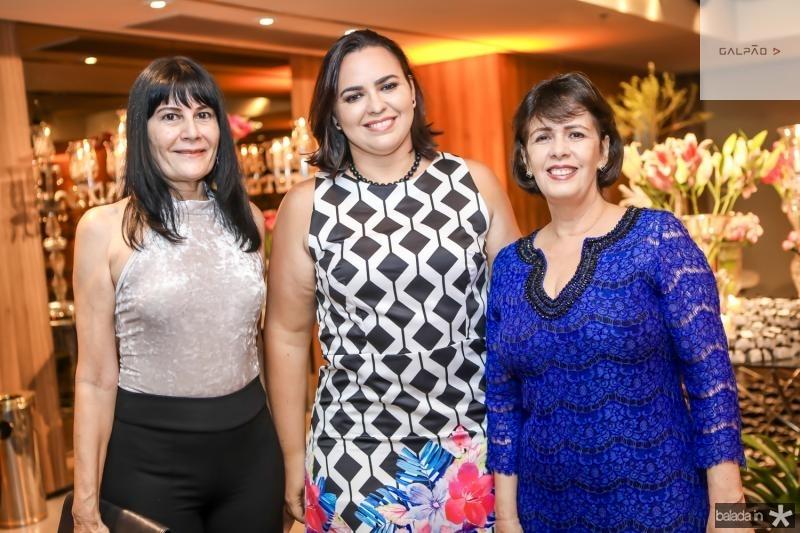 Rosalinda Pinheiro, Patricia Bessa e Neuma Figueiredo