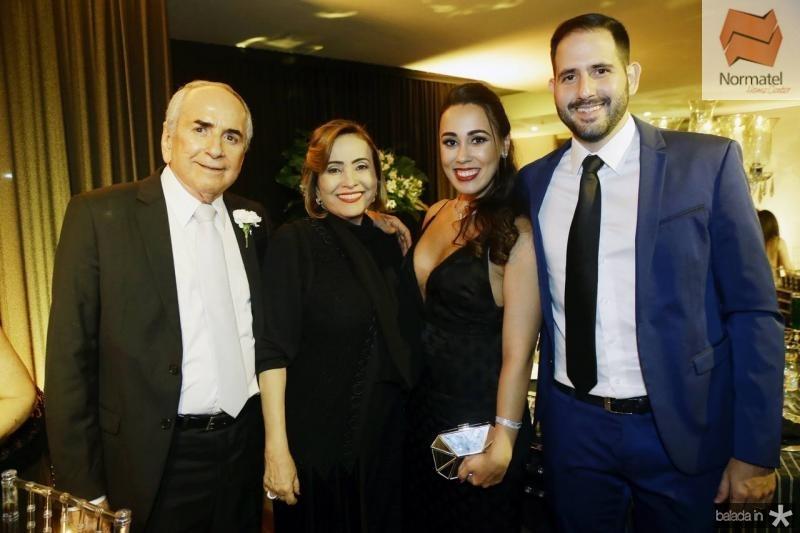 Elveslei e Anne Mourao, Elice Crescencio e Camilo Alves
