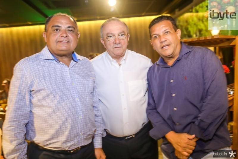 Teodoro Santos, Cesar Asfor e Raimundo Santos
