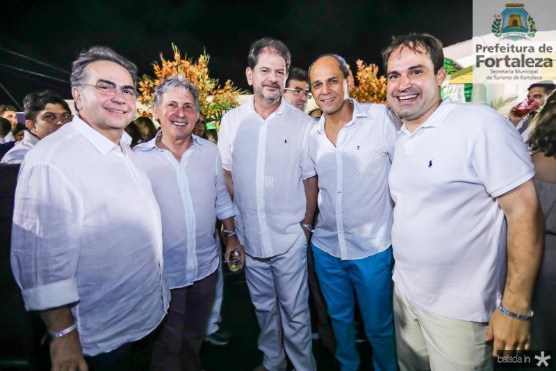 Leonidas Cristino, Vilmar Ferreira, Cid Gomes, Mano Alencar e Salmito Filho