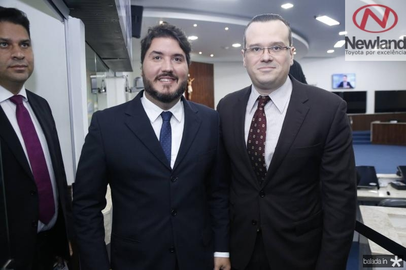 Thiago Silva e Jasson Fonteles