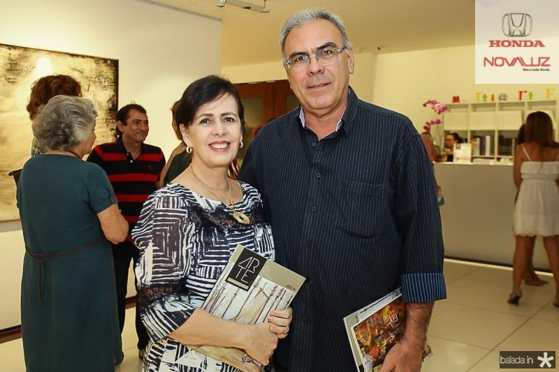 Neuma Figueiredo e Esdras Guimaraes
