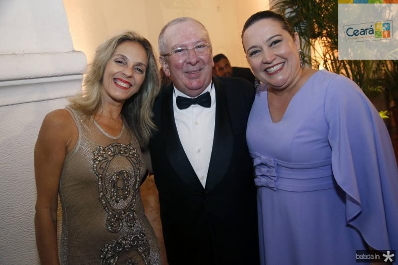Eunir Saker e Valmir Pontes e Norma Zelia