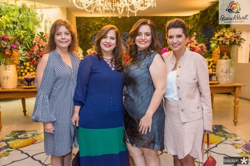Claudia Gradvohl, Martinha Assuncao, Lia Freire e Marcia Travessoni