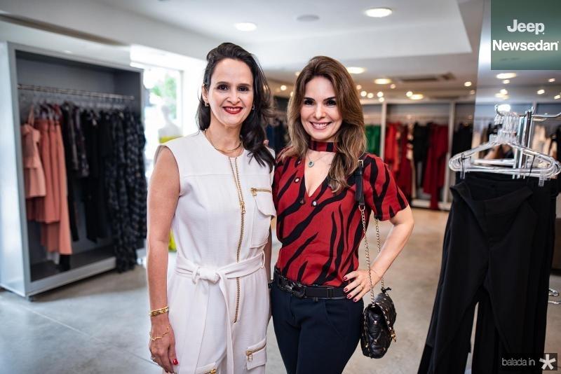 Adriana Miranda e Eveline Fujita