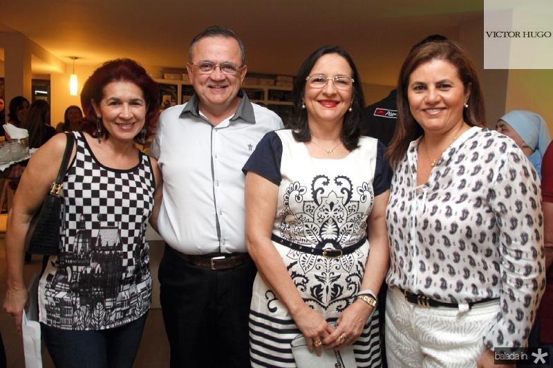 Cleide Castro, Manoel Enéas, Isabel Maia e Islane Verçosa