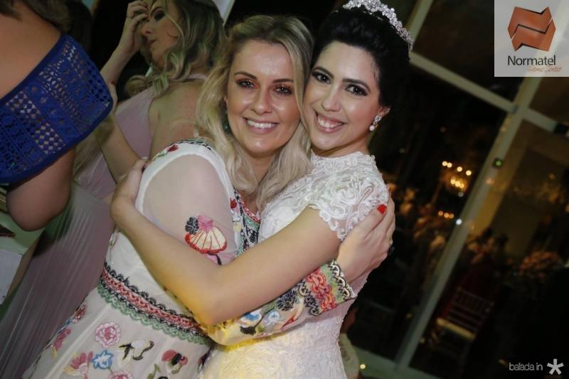 Marina Montenegro e Lorena Aragao